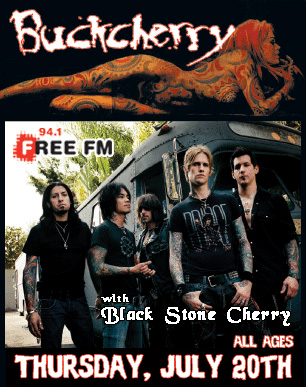 Buckcherry-Bangkok Five